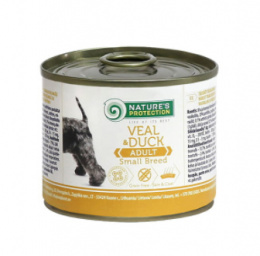 Nature's Protection Adult Dog Small Breeds Veal & Duck 200g